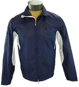 New-Mens-Ralph-Lauren-Golf-Medium-Navy-Jacket-Windbreaker-Lightweight-Wind