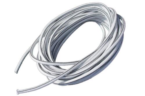 "USA 1//8/"" x 25/' Bungee Cord Shock Cord Bungie Cord Marine Grade Stretch Cord WHT"