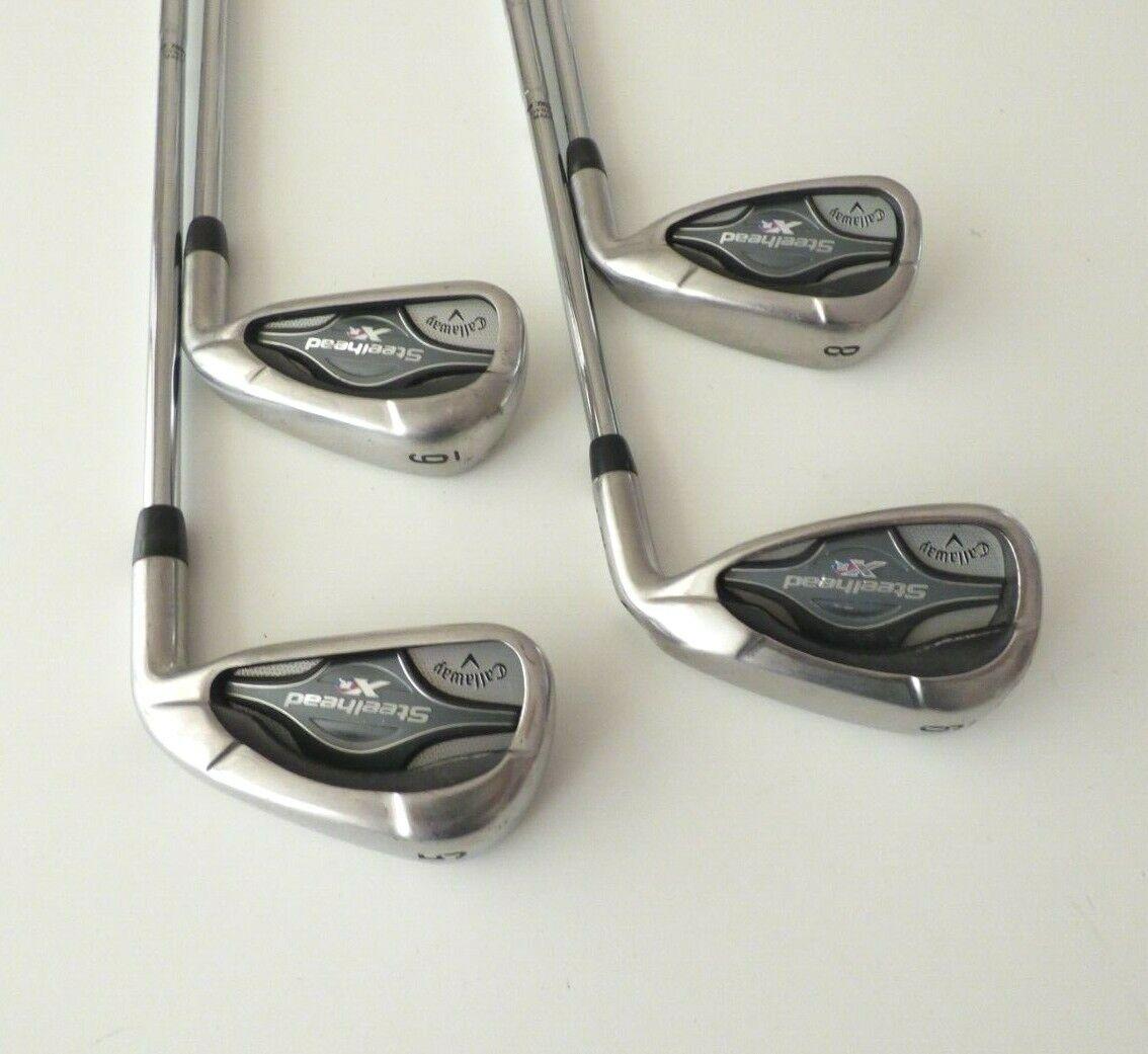 Callaway Steelhead XR single irons. S300 Stiff - V-Good Cond, Free Post