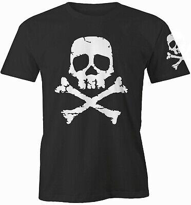 Space Pirate Captain Harlock Skull and Cross Bones Mens Vest