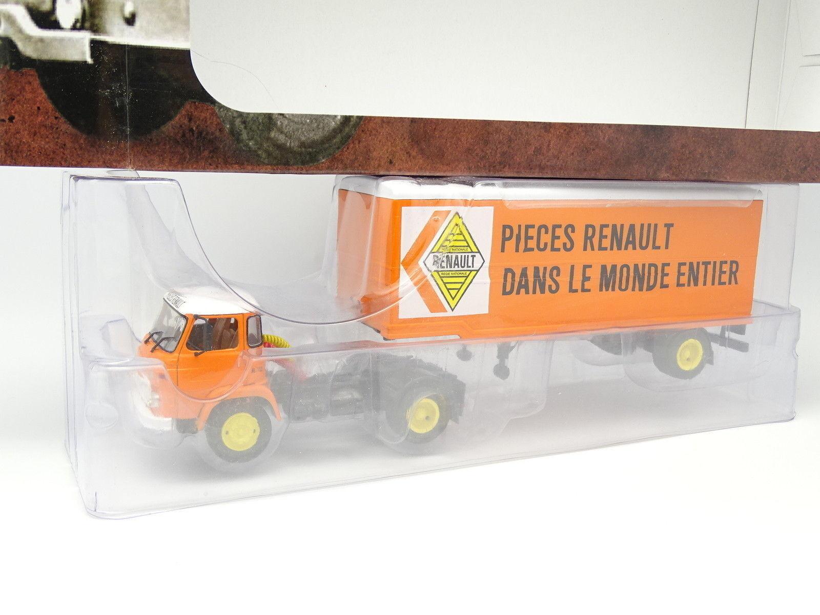 solo para ti Ixo Camion d'Autrefois 1 43 - - - SAVIEM SM8T Fourgon Pièces Renault  comprar marca