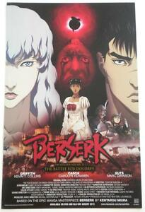 New-BERSERK-The-Battle-For-Doldrey-Double-Sided-Promotional-Poster-17-034-x-11-034