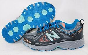 NEW-Womens-NEW-BALANCE-510-GB2-Grey-Blue-Orange-Memory-Foam-Sneakers-Shoes