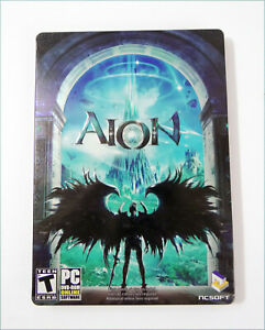 PC-GAME-AION-CD-ROM-2-Disc-Game-Metal-Case-version-2009-No-Manual-or-CDKey