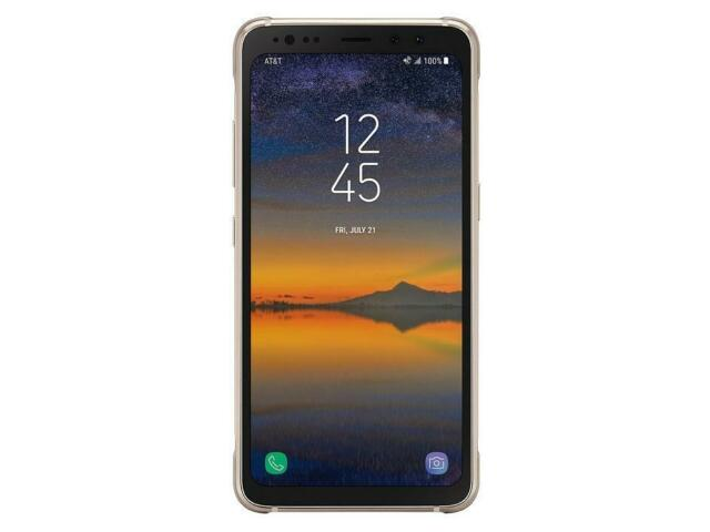 Samsung Galaxy S8 Active AT&T 64GB Gold G892A Clean IMEI GREAT Screen Ghosting