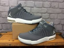 233c400afdd529 item 3 NIKE AIR MENS UK 7.5 EU 42 COOL GREY WHITE JORDAN FLIGHT ORIGIN 4  HIGH TRAINERS -NIKE AIR MENS UK 7.5 EU 42 COOL GREY WHITE JORDAN FLIGHT  ORIGIN 4 ...