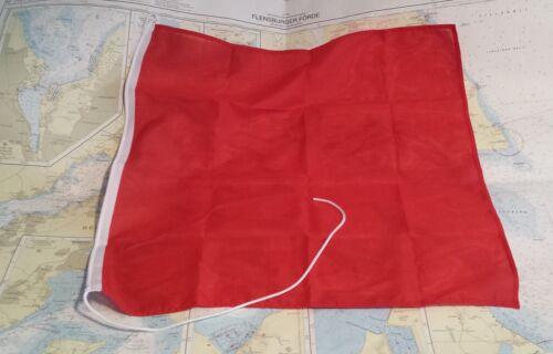 rot 60 oder 70cm Notfahne Versandkostenfrei Notflagge Bodensee