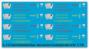 Peddinghaus-Decals-1-16-1521-Deutsche-Panzerfaustbeschriftungen