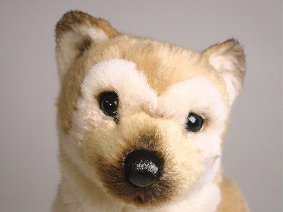 Shiba Inu Puppy Puppy Puppy by Piutre, Hand Made in , Plush Stuffed Animal NWT 4d5e7d