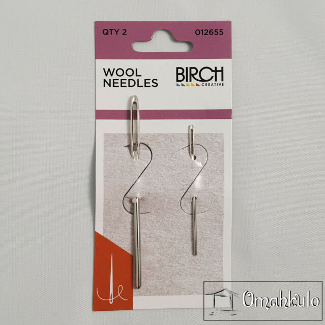 BIRCH - Wool Needles - 2 Pack - Rounded Point
