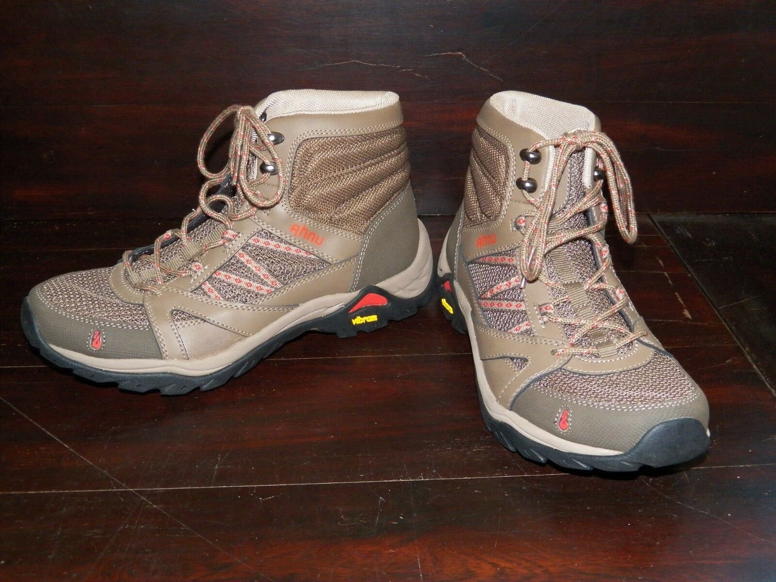 New Damenschuhe Ahnu Sequoia Mid Lace Canteen Hiking Trail Walking Lace Mid Up Vibram Boot a1ee25