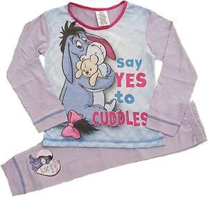 Eeyore Girls Pyjamas Winnie The Pooh Pyjamas Age 4-5 Years. Brand New