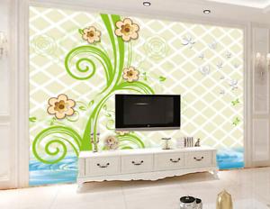 3D bluemen Pflanzen Ozean 462 Tapete Tapete Mauer Foto Familie Tapete Wandgemälde