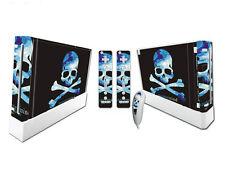 Nintendo Wii Skin Design Foils Aufkleber Schutzfolie Set - Pirate Flag Motiv