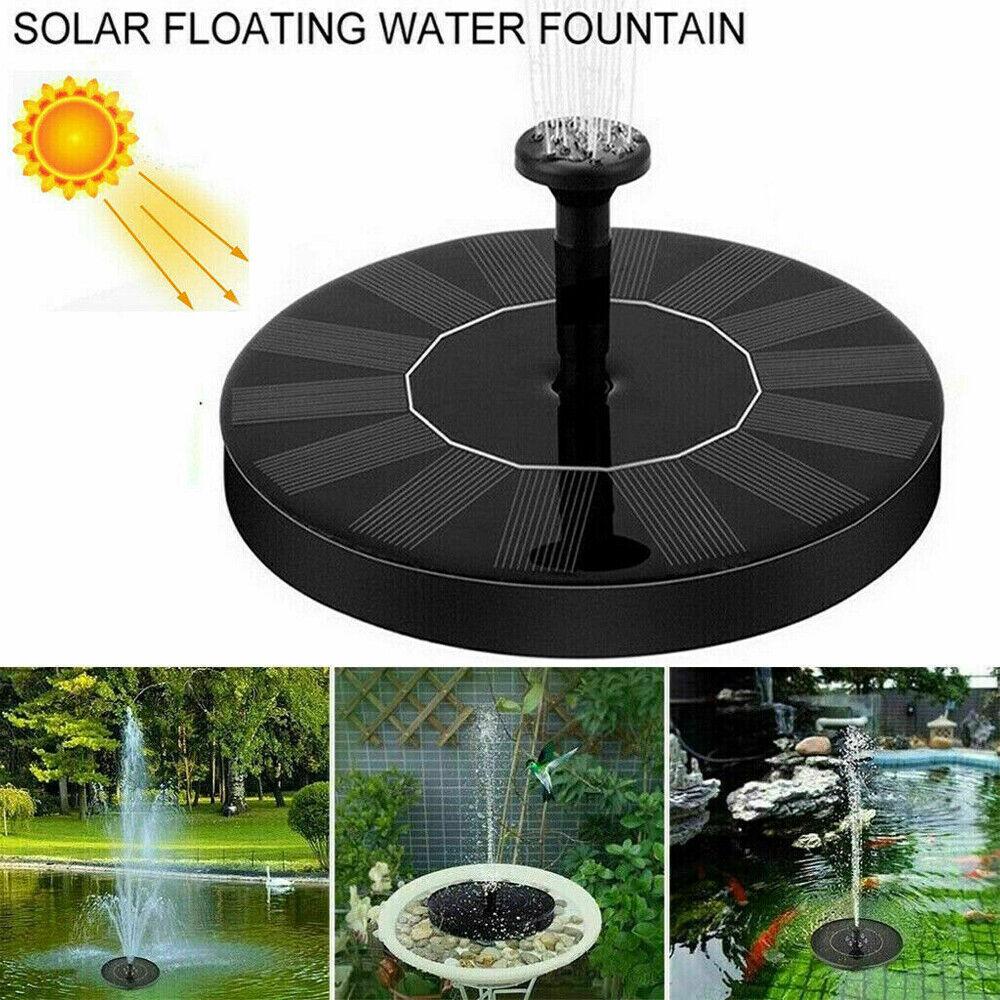 Maliyaw 5.3 Solar Powered Fountain Pump Solar Water Fountain for Garden Pool Pond Outdoor Floating Garden Pool Outdoor,Garden Fountain Solar Powered