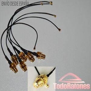 antenne-WIFI-connecteur-2-4-GHz-3dBi-femelle-SMA-cable-manette-electronique