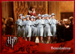 HARRY-POTTER-GOBLET-OF-FIRE-Card-33-LOVELY-BEAUXBATONS-Cards-Inc-2005
