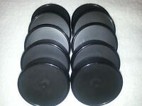 10 Black Plastic Mason Jar With Liner Lids Canning High Quality Free Ship