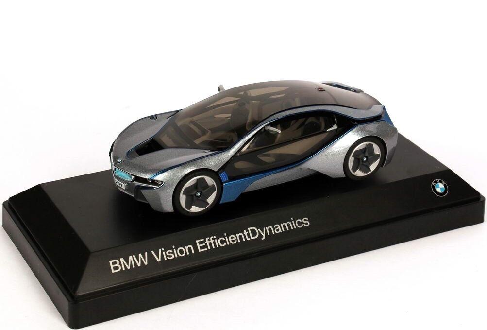 BMW Vision Efficient Dynamics Concept i8 Grigio 1:43 Minichamps  modello concessionario