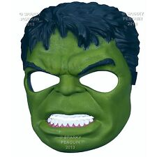 THE INCREDIBLE HULK AVENGERS COSTUME MASK BOYS GIRLS OFFICIAL HALLOWEEN PARTY