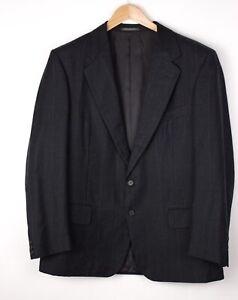 Ermenegildo Zegna Herren Wolle Formelle Jacke Blazer Größe 54 ARZ389