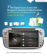 """Ford - FOCUS / MONDEO / S-MAX' 7"""" Android 6.0 Marshmallow, Bluetooth 4.0 & OBD2"""