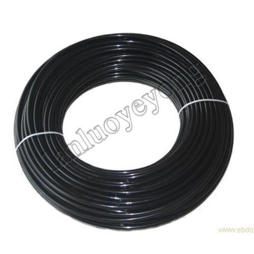New 1m Length OD 4mm ID 2.5mm Black PTFE TEFLON Tubing Tube Pipe hose per meter