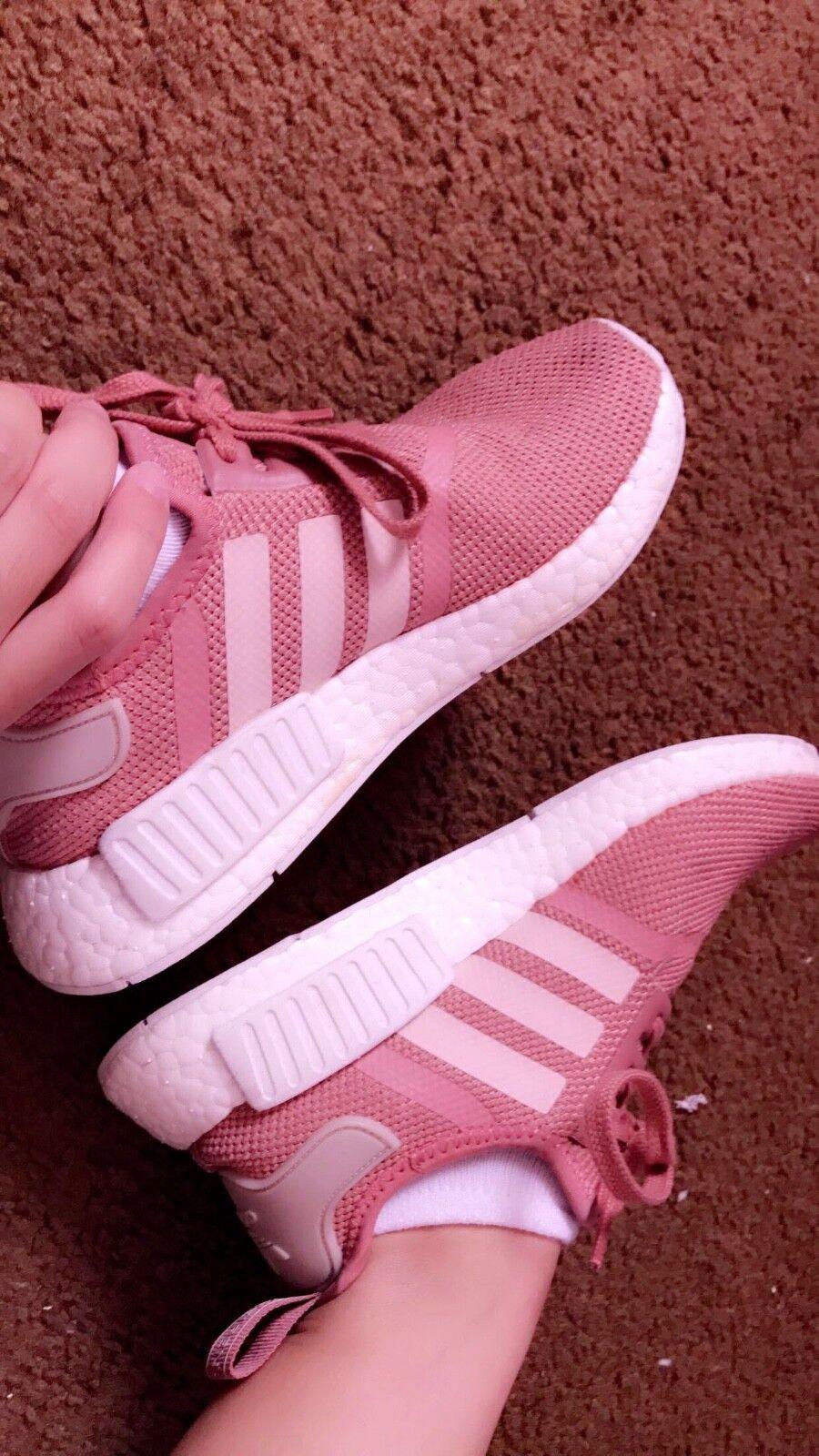 women's adidas raw pink nmd
