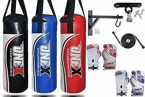 Image Is Loading Kids Boxing Punch Bag Children Punching Bags Gloves