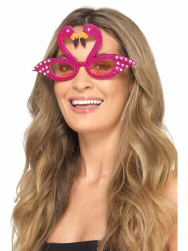 Women/'s Fancy Dress Fun Glasses Hippy Bride Jumbo Christmas Hen Party Theme Do