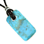Kingman-Turquoise-Unisex-Pendant-Necklace-Reiki-Healing-Crystal-Power-Energy thumbnail 1