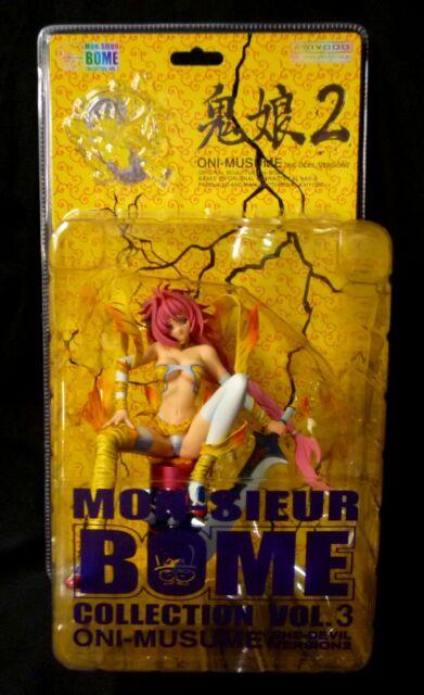 "Countdown ONI MUSUME SHE DEVIL 9/"" Figurine Mon Sieur Bome Vol 1 Kaiyodo Xebec"