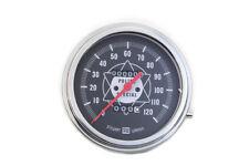 Police Speedometer With Red Needle For Harley Shovelhead Servi Car Fl G Models