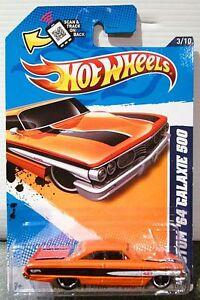 427-cu-in-Custom-1964-Ford-Galaxie-500-HOT-WHEELS-2012-Muscle-Mania
