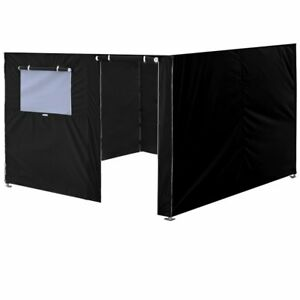 Side-Enclosure-Wall-10x10-Panels-Zipper-Wall-Kit-For-Pop-Up-Canopy-Instant-Tent