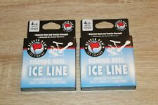 BEAVER DAM ICE CRAPPIE GILL WALLEYE FISHING LINE CHOICE 2 3 4 OR 6LB TEST 125YD