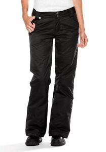 Oakley-Women-039-s-Altitude-Aptitude-Ski-Pant-Snowboard-Black-Gray-Size-Medium-New