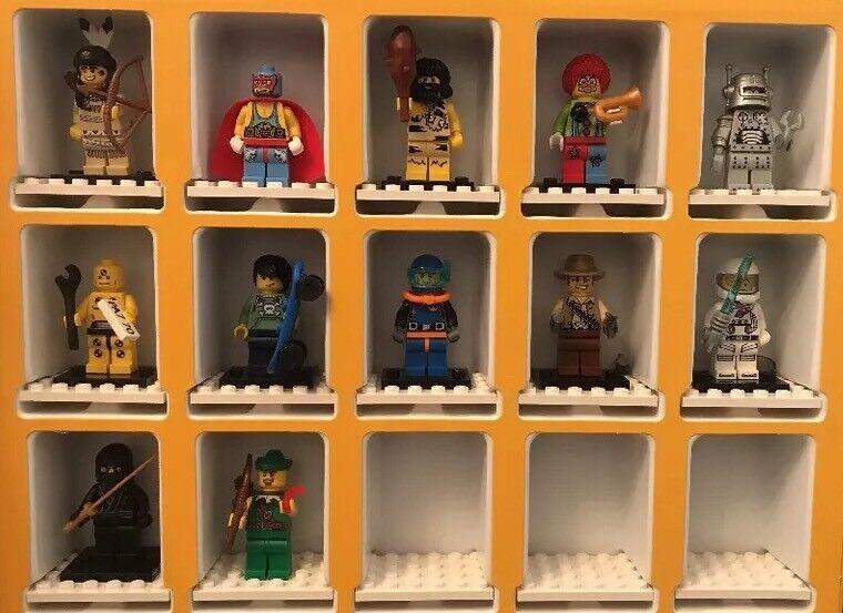 Lego 8683 Series 1 Minifigures w/ Collectors Box 12 Figures + Accessories