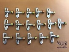 16 X Antiluce Fastener ZP M12 x 25mm Horseboxes Trailer Truck Tailgate Drop Lock