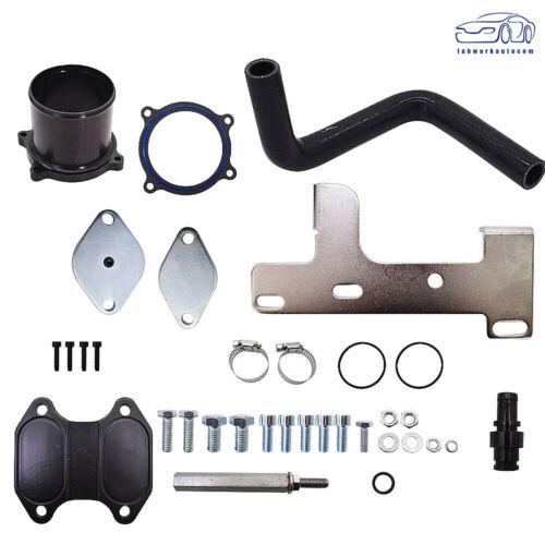 EGR Cooler /& Throttle Valve Delete Kit Fit For Dodge 10-14 Ram 6.7L US