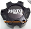 Moto Metal Center Cap MO909B6139YB Matte Black fits 6x5.5 Chevy Nissan Cadillac