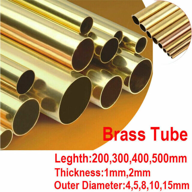 400Mm Length Copper Tube 2Mm//3Mm//4Mm//5Mm//6Mm Diameter Hollow Copper Rod