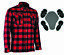 CE-Armoured-Motorbike-Motorcycle-Shirt-Check-Lumberjack-Reinforced-All-Sizes thumbnail 3