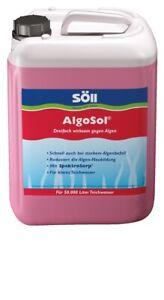 Söll Algosol 2,5 litres pour les étangs jusqu'à 50 000