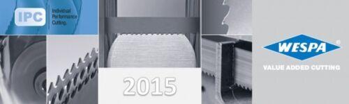 1x HSS Bimetall M42 Sägeband 3340 x 27 x 0,9 mm 10//14 ZpZ  Zahnungen verschieden