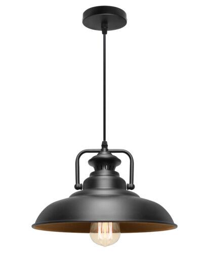 Vintage Industrial plafond métallique Pendentif Abat-jour Moderne Suspendu Rétro Lumière UK