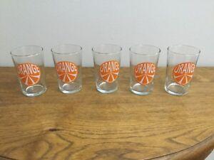 """5 """"ORANGE"""" jus verres-afficher le titre d`origine XFFYrnmu-09165120-889640168"""