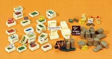 Preiser  #17501, Obst- und Gemüse, Bausatz, Spur H0