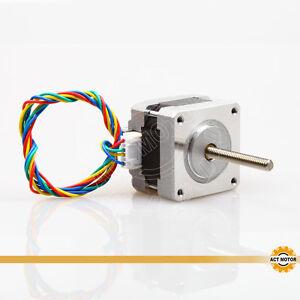 ACT-Motor-1Stueck-Nema16-Linear-Schrittmotor-16HSL3404-12V-0-01-Step-100mm