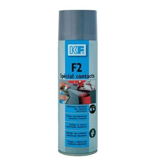 Aérosol KF F2 spécial contact 200 millilitres nettoyant électriques